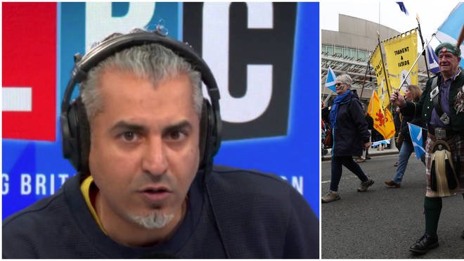 "Maajid Nawaz Infuriated By ""Xenophobic"" Scottish Independence Caller"