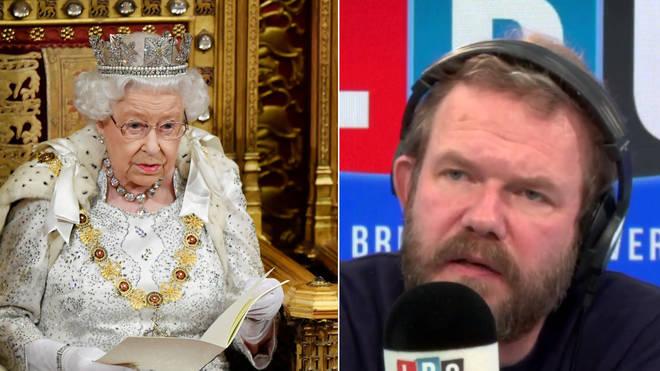 James O'Brien looked over the Queen's Speech