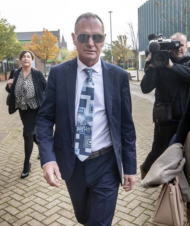 Gascoigne has denied the charge and said he kissed the woman to boost her confidence