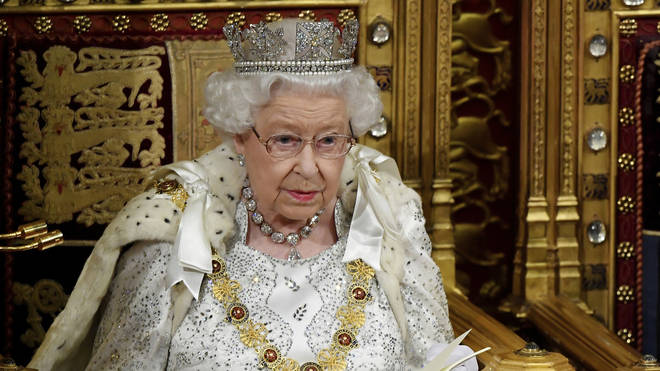 The Queen is always sat in the Lords and misses out on all the fun