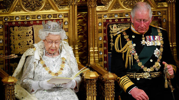 Queen's Speech: Law and order dominate government plans
