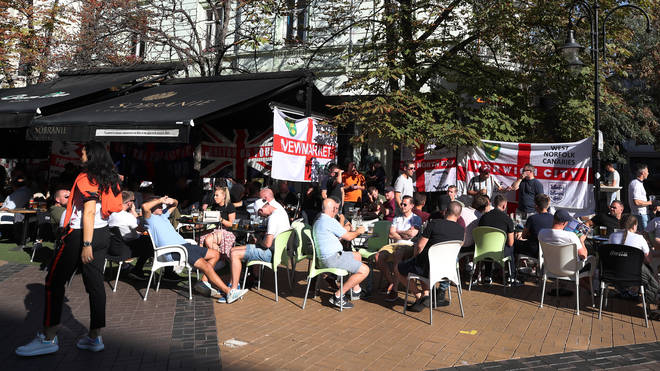 "The England fan was found in a ""helpless condition"" in the Bulgarian capital"
