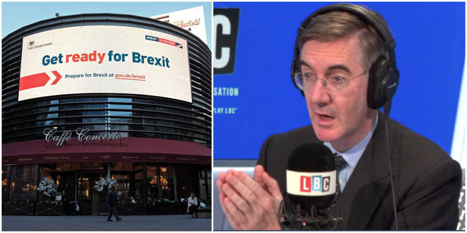 "Jacob Rees-Mogg ""Absolutely Certain"" Of Brexit On 31st October, Tells LBC"