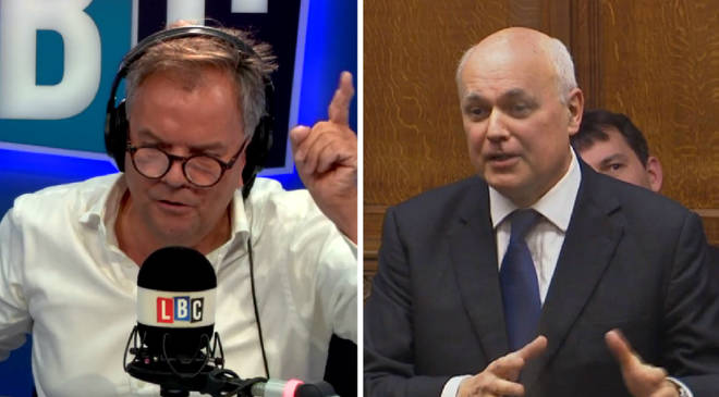 Iain Duncan Smith tells Matt Frei America was wrong to implement tariffs on steel and aluminium