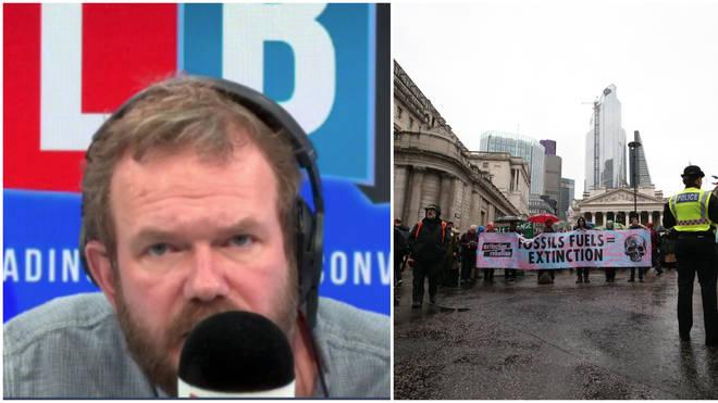 """Cab Driver Complains To James O&squot;Brien About """"Unacceptable"""" Extinction Rebellion"""
