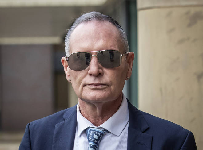 Former England footballer Paul Gascoigne arrives at Teesside Crown Court in Middlesbrough where he is appearing on charges of sexually assaulting a woman on a train.