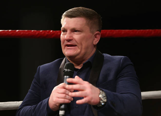 Former boxer Ricky Hatton provided a character reference that was read out in court