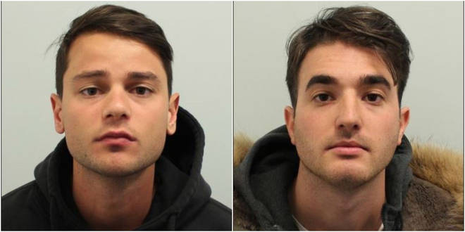 Ferdinando Orlando, 25 and Lorenzo Costanzo, 26 are both Italian nationals