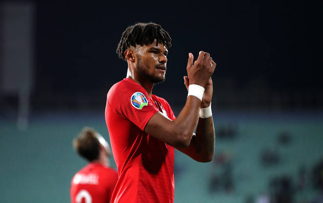 Tyrone Mings made his England debut and was met with monkey chants in the warm-up