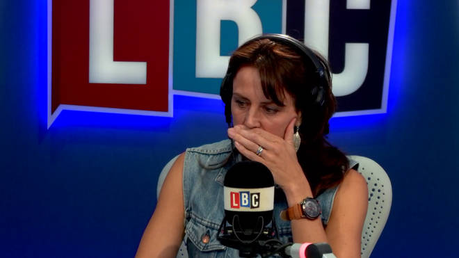 Beverley Turner was speechless by this caller's use for a snore-tracking app
