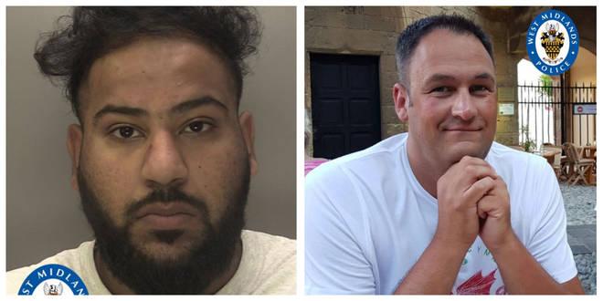Mubashar Hussain hit PC Gareth Phillips with a stolen police car
