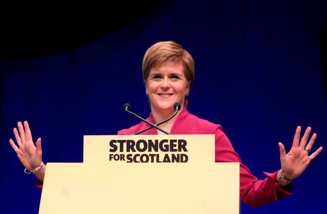 Nicola Sturgeon has once again called for a second Scottish independence referendum