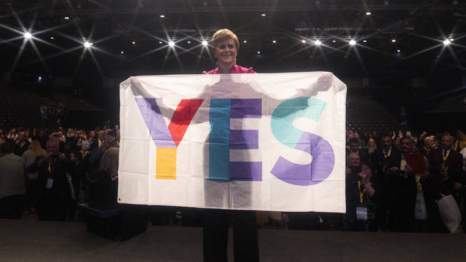 Scotland's First Minister said the country was rich enough to be independent