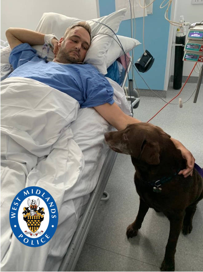 PC Gareth Phillips was left with life changing injuries