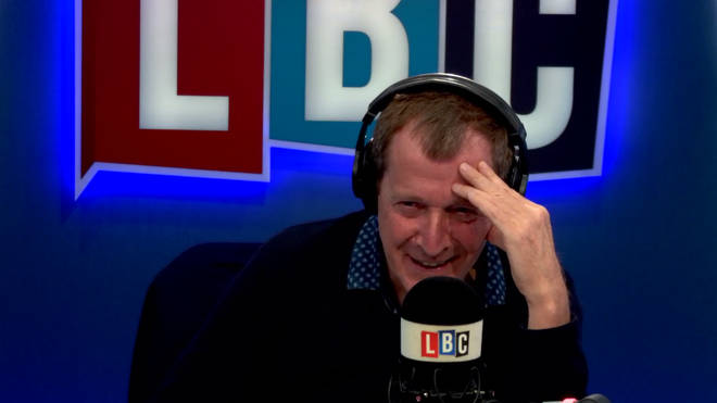 Alastair Campbell receives advice on feminism from his daughter