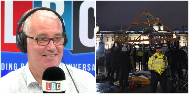"Police Union Chief Defends Clearing ""Bonkers"" Protest On Trafalgar Square"