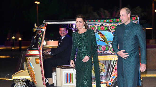 The Duke and Duchess Of Cambridge attend a special reception hosted by the British High Commissioner to Pakistan