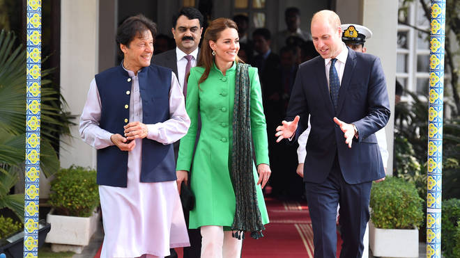 The couple also met Prime Minister Imran Khan