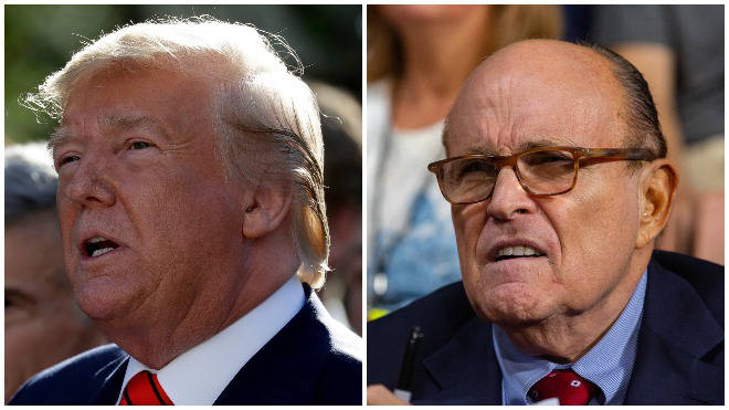 Trump's lawyer Rudy Giuliani told US politicians he will not comply with the subpoena