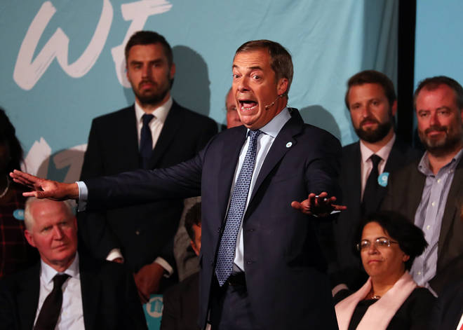 Brexit Party leader Nigel Farage also predicts clean-break Brexit is the best way forward.