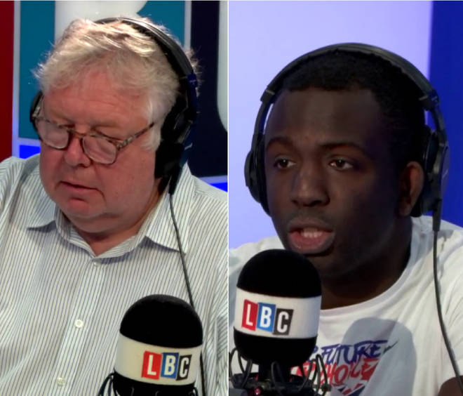 Nick Ferrari spoke to Femi Oluwole