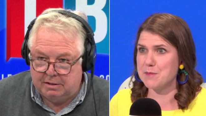 Nick Ferrari traded analogies with the Lib Dem leader