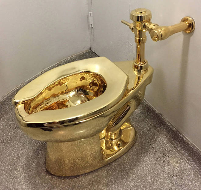 The Blenheim Palace toilet was stolen on September 14