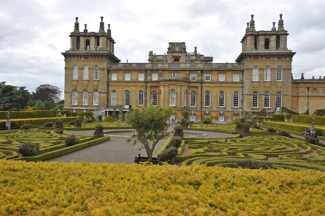 The toilet was stolen from Blenheim Palace