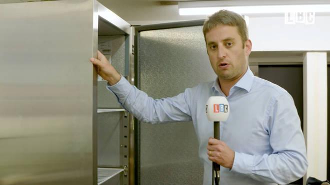 Theo explains using fridges