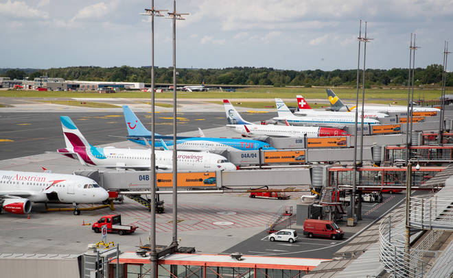 Hamburg Airport remains closed for the foreseeable future