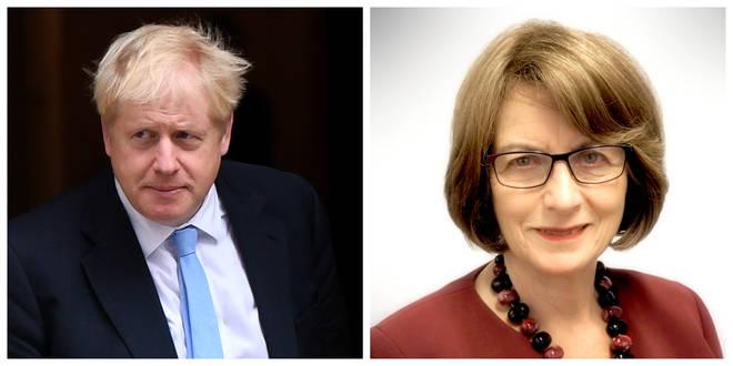 Boris Johnson and Louise Ellman