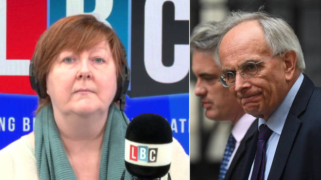 Shelagh Fogarty asked Peter Bone which way he'd vote
