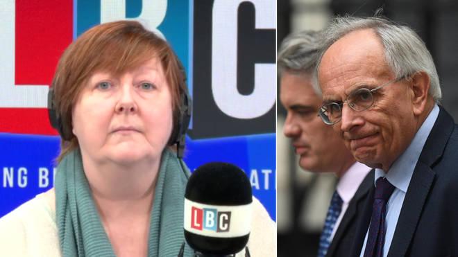 Shelagh Fogarty spoke to Peter Bone