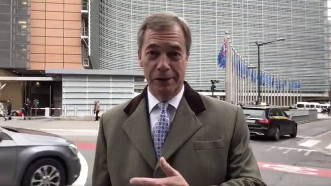 Nigel Farage has given his thoughts on the new Brexit deal