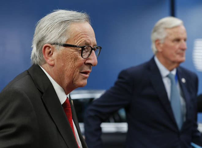 Jean-Claude Juncker made a plea for MPs to back the renewed deal