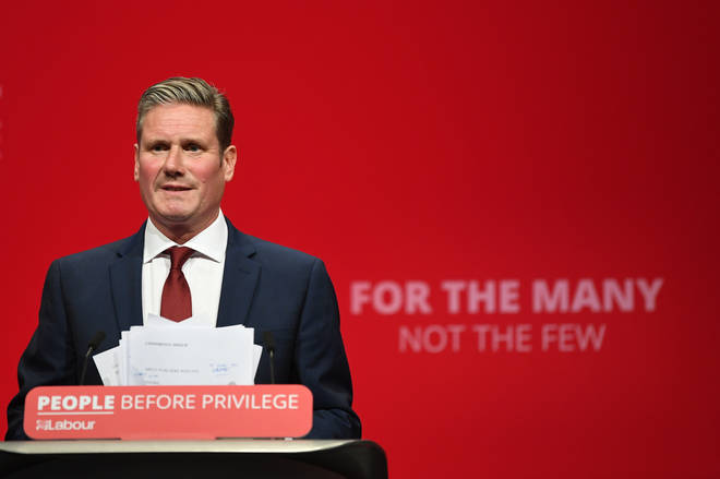 Sir Keir Starmer will try to prevent Johnson's deal on Saturday by voting against it
