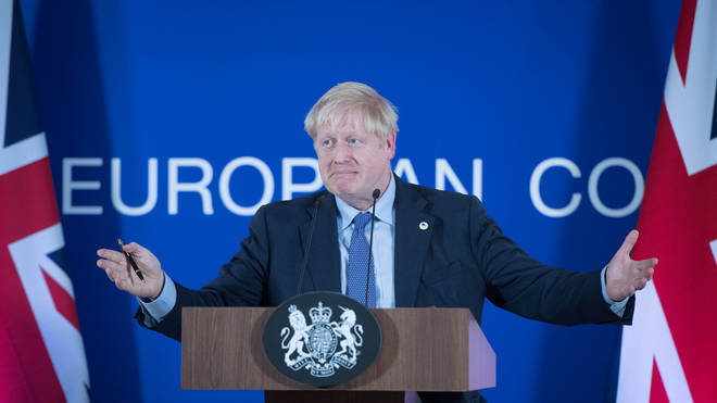 The Prime Minister speaks during a European Council press conference