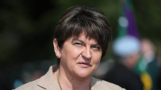 DUP leader Arlene Foster has confirmed her 10 MPs will not be voting for a deal