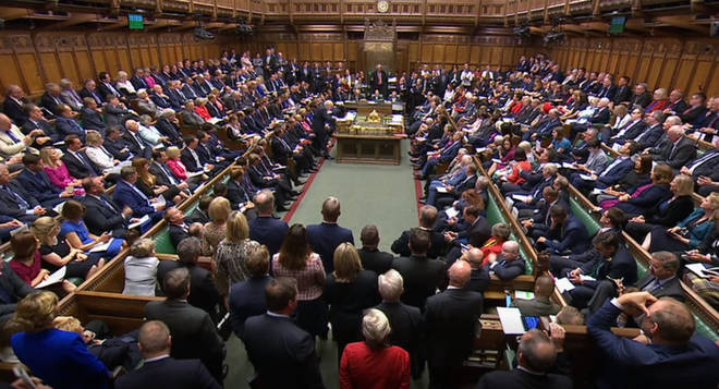 "The caller said Tory MPs ""sneer"" at SNP MPs."