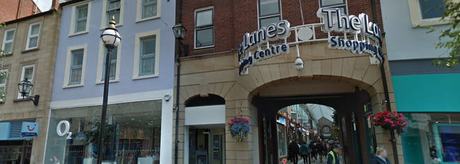 The Lanes in Carlisle have been evacuated