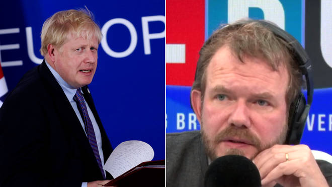 Has James O'Brien spotted a flaw in Boris Johnson's Brexit deal?