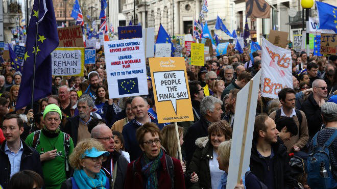 Hundreds of thousands of protesters will take to the streets for a People's Vote tomorrow