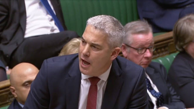 The Brexit Secretary addressed the Commons
