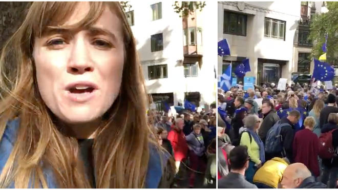 Thousands Take To Streets For People's Vote March