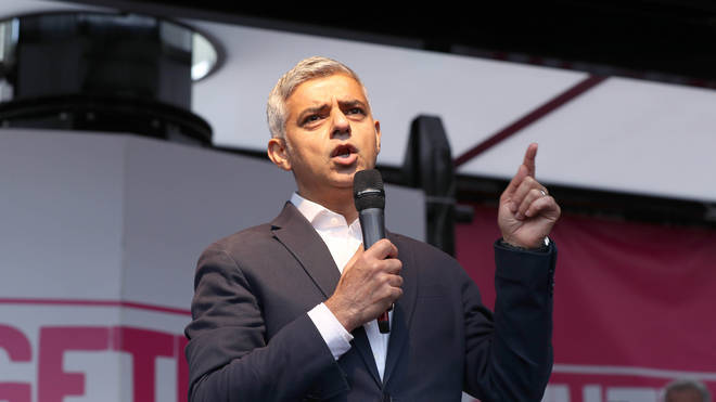 Sadiq Khan said EU citizens help make London a great city