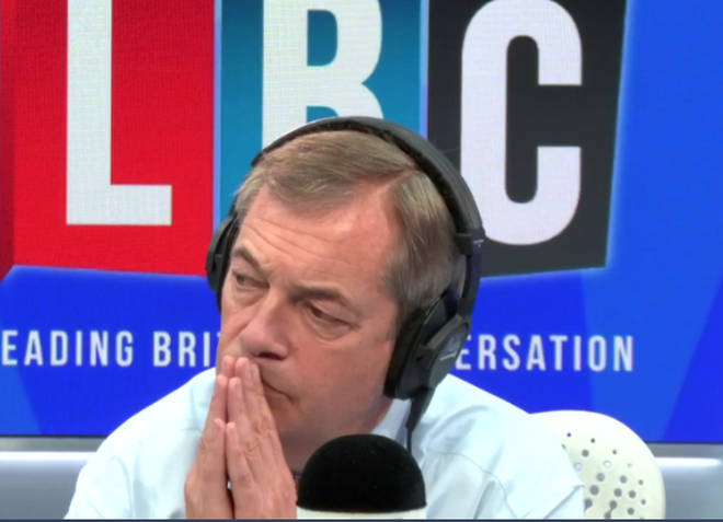 The Nigel Farage Show On LBC: Watch From 10am