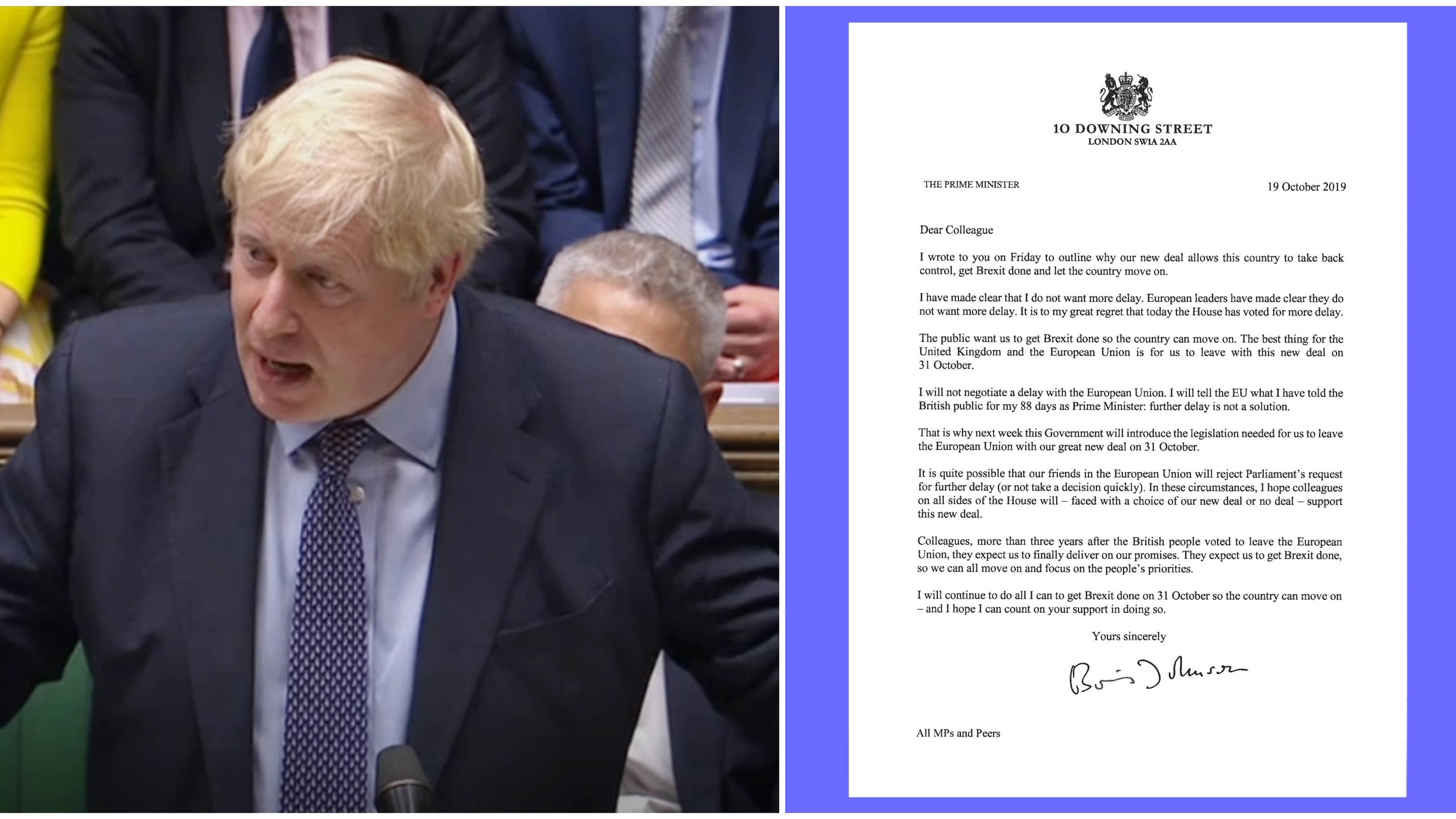 Brexit: What Happens Now That Boris Johnson Has Sent Those Letters To The EU?