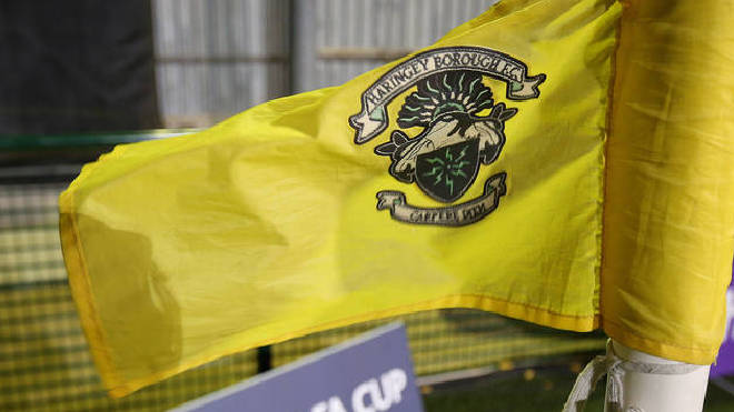 Haringey Borough players walked off after claims their goalkeeper was 'racially abused' by Yeovil Town fans during FA Cup qualifier