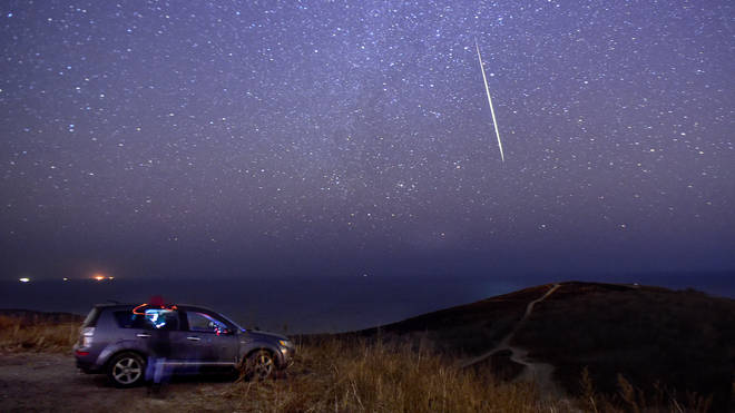 Brits should be able to see the meteor display wherever they are in the country