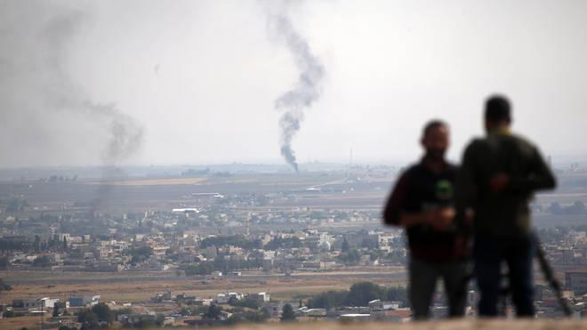 The Kurdish evacuation is part of a temporary ceasefire